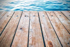 wood floor water