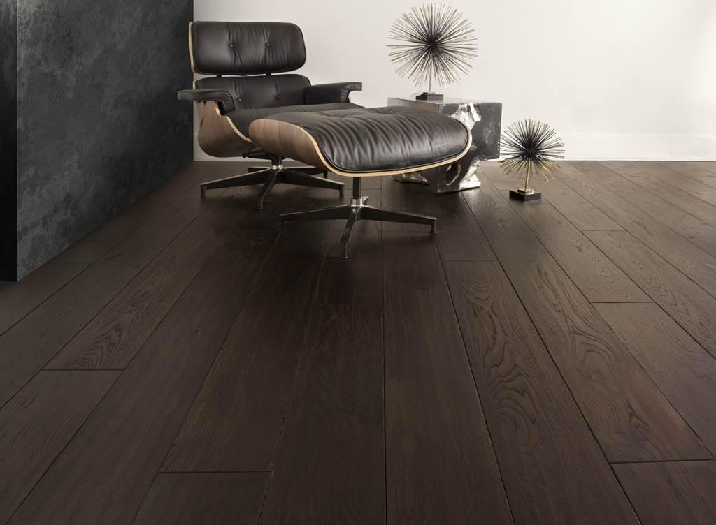 dark hardwood flooring