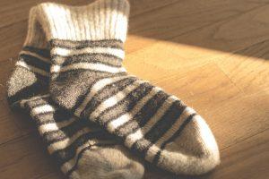 socks slippery floor