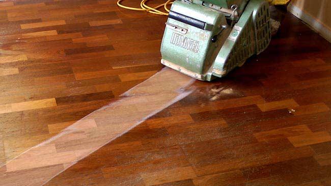 How To Sand Hardwood Flooring